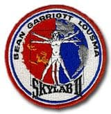 "NASA Skylab 2 (SL-3) Embroidered 4"" Mission Patch"