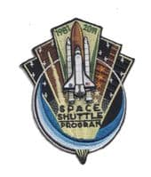 NASA Space Shuttle 1981-2011 Patch 4""