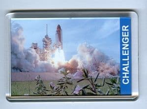 NASA Space Shuttle Challenger Fridge Magnet