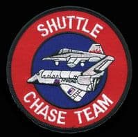 NASA Space Shuttle Chase Team Embroidered Patch