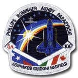 NASA STS-100 Endeavour Mission Patch