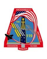 NASA STS-119 Discovery Mission Patch