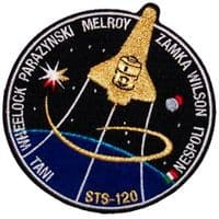 NASA STS-120 Discovery Mission Patch