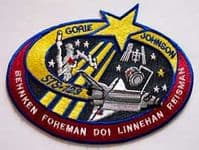 NASA STS-123 Endeavour Mission Patch