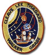 NASA STS-30 Atlantis Embroidered Space Shuttle Mission Patch