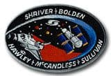 NASA STS-31 Discovery Embroidered Space Shuttle Mission Patch