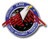 NASA STS-33 Discovery Embroidered Space Shuttle Mission Patch