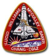 NASA STS-34 Atlantis Embroidered Space Shuttle Mission Patch