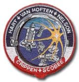 NASA STS-41C Challenger Embroidered Space Shuttle Mission Patch
