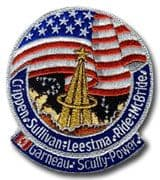 NASA STS-41G Challenger Embroidered Space Shuttle Mission Patch