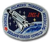 NASA STS-42 Discovery Embroidered Space Shuttle Mission Patch