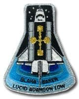 NASA STS-43 Atlantis Embroidered Space Shuttle Mission Patch