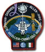 NASA STS-46 Atlantis Space Shuttle Mission Patch