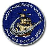 NASA STS-49 Endeavour Embroidered Space Shuttle Mission Patch