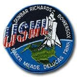 NASA STS-50 Columbia Embroidered Space Shuttle Mission Patch