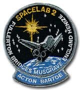 NASA STS-51F Challenger Embroidered Space Shuttle Mission Patch