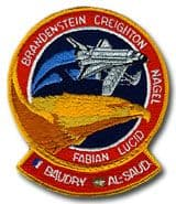 NASA STS-51G Discovery Embroidered Space Shuttle Mission Patch