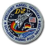 NASA STS-55 Columbia Mission Patch