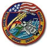 NASA STS-57 Endeavour Mission Patch