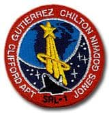 NASA STS-59 Endeavour Mission Patch