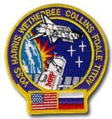 NASA STS-63 Discovery Mission Patch