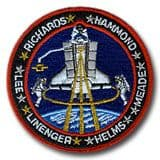 NASA STS-64 Discovery Mission Patch