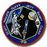 NASA STS-72 Endeavour Mission Patch