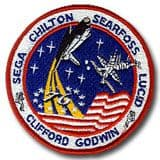 NASA STS-76 Atlantis Mission Patch