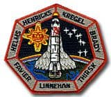 NASA STS-78 Columbia Mission Patch