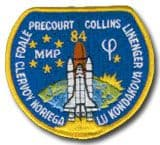 NASA STS-84 Atlantis Mission Patch