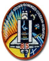 NASA STS-85 Discovery Mission Patch