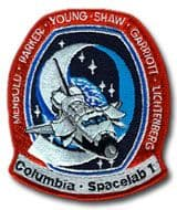 NASA STS-9 Columbia Embroidered Space Shuttle Mission Patch