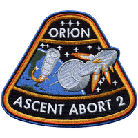 Orion Ascent Abort-2  (AA-2) Patch