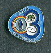 Skylab Program 4 Lapel Pin
