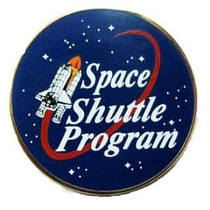 Space Shuttle Program Pin - Authorised by NASA