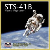 Space Shuttle STS-41B Image Library