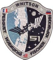 Space Station Expedition 51 Patch