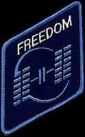 Space Station Freedom Embroidered Patch