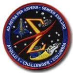 Spaceflight Memorial Patch