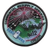 SpaceX's SPX-12 Commercial Resupply Service Patch
