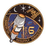 SpaceX's SPX-6 Commercial Resupply Service Patch