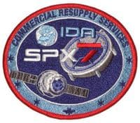 SpaceX's SPX-7 Commercial Resupply Service Patch