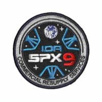 SpaceX's SPX-9 Commercial Resupply Service Patch