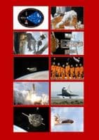 STS-125 NASA Space Shuttle Mission Photo Pack