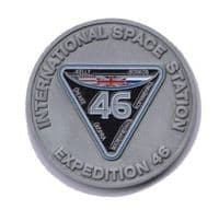 Tim Peake ISS Exp.46 Ltd Edition Medallion