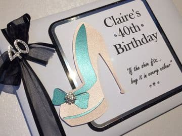 40th Birthday Party Guest Book