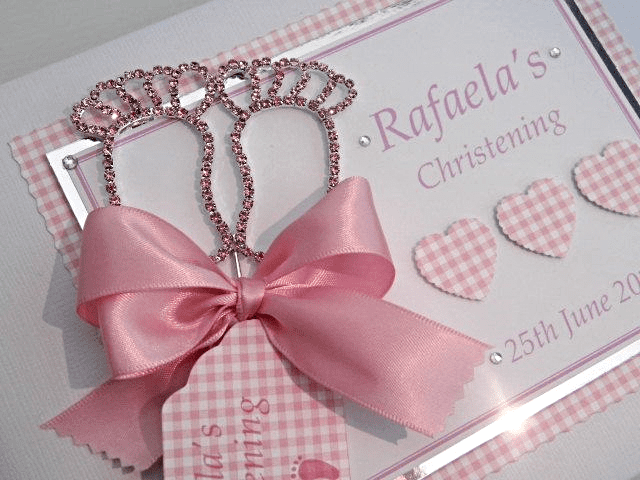 Baby's Christening Guest Book