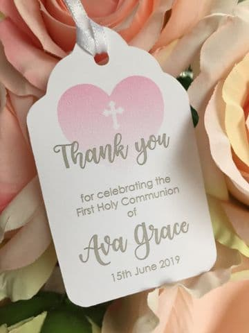 Girl's 1st Holy Communion Favour Tags