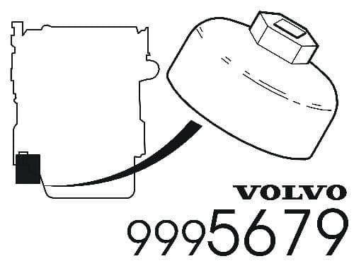 Volvo Oil Filter Wrench - 9995679