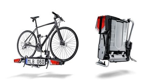 Volvo  Folding Towbar Mounted Bicycle Carrier